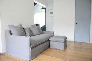 sofaonline - sofa modular a medida con puf independiente Ana y tela Jenny 229