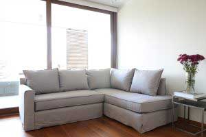 sofaonline - sofa modular a medida Colomba con tela de algodon