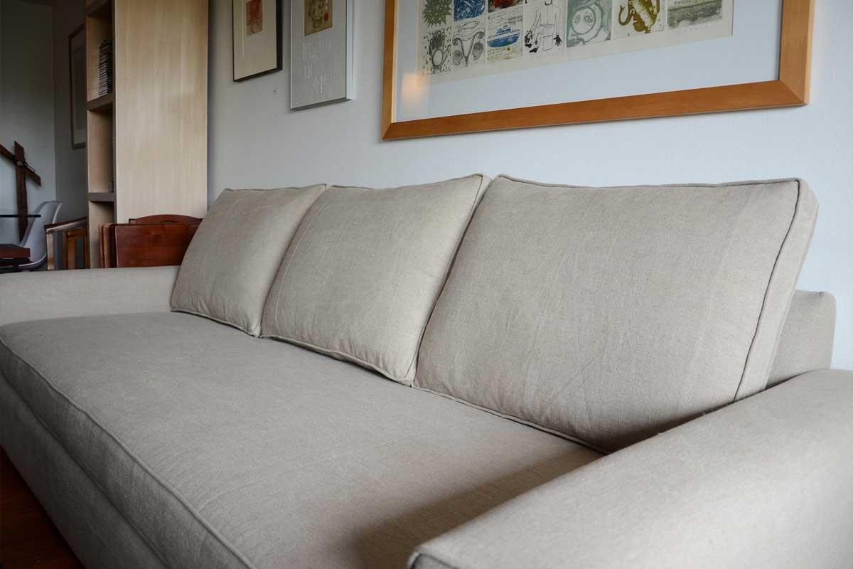 sofaonline - sofa a medida Ale en casa de cliente