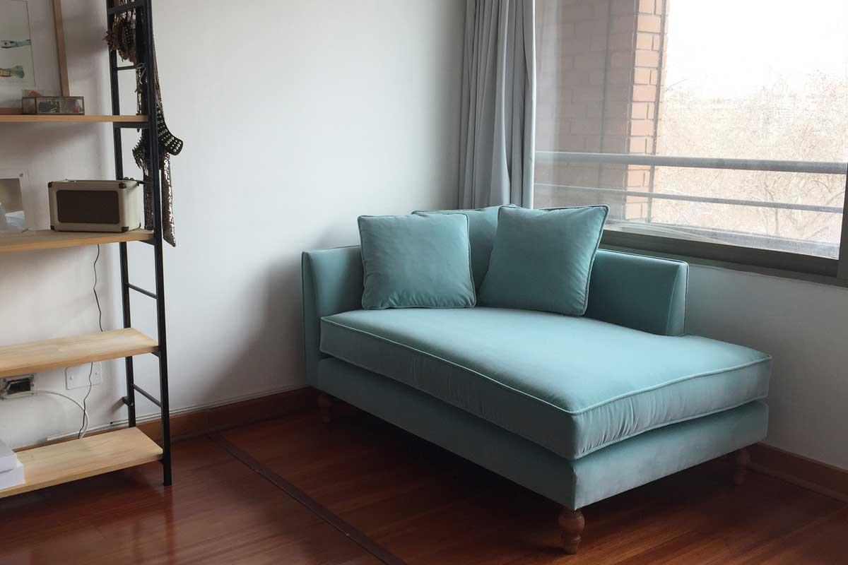 sofaonline - foto de sofa a medida Elena en casa de cliente