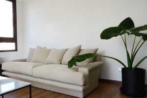 sofaonline - sofa a medida Matilde con tela de lino caribe legiado