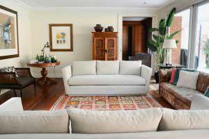 sofaonline - sofa a medida Trini con tela Crypton Sorrel