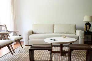 sofaonline - sofa a medida Ale con tela Div 32