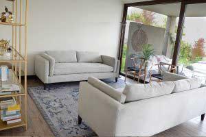 sofaonline - sofa a medida Ema con tela sorrel