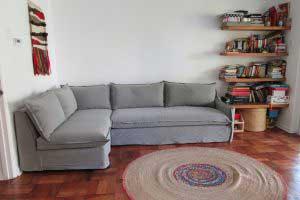 sofaonline - Sofa modular a medida Emilia con tela Lily 60