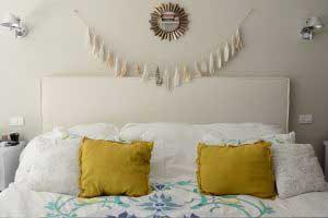 sofaonline - Respaldo funda pestaña doble con tela de lino caribe crudo