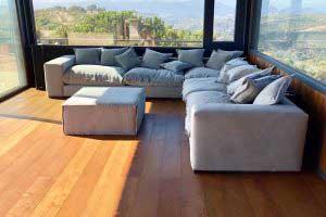 sofaonline - Sofa modular a medida Luisa con tela Vera 60