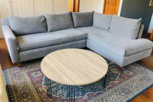 sofaonline - sofa modular a medida Pili con tela Josefa 58