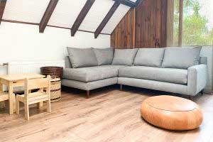 sofaonline - sofa modular a medida Pili con tela de nilo