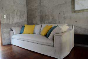 sofaonline - Sofa a medida Agustina con tela Colombier