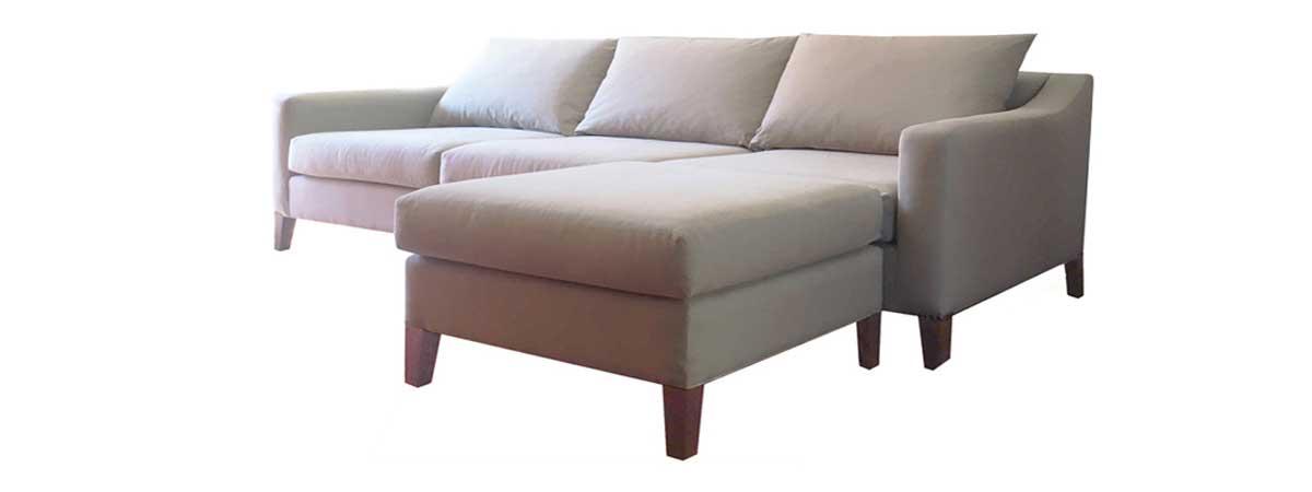 sofaonline - sofa modular a medida con puf sara