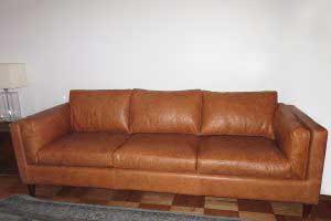sofaonline - Sofa a medida de cuero Adela