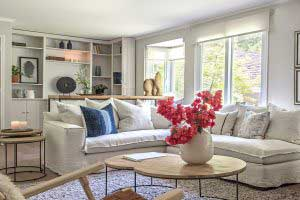 sofaonline - sofa modular a medida Alicia con tela de lino color hueso