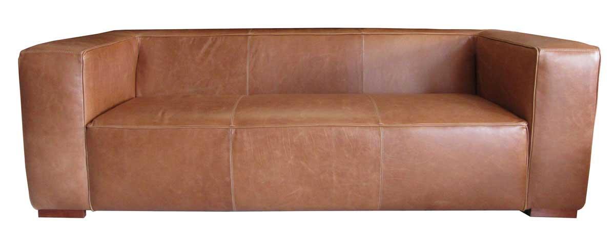 sofaonline - sofa de cuero a medida Rebeca