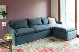 sofaonline - foto de sofa modular a medida en casa de cliente