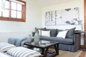 sofaonline - sofa a medida Guadalupe con tela de lino mediterraneo gris