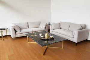 sofaonline - sofa a medida Ceci con tela sorrel