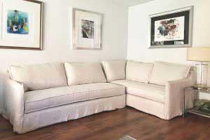 sofaonline - sofa modular a medida Eugenia con tela de lino
