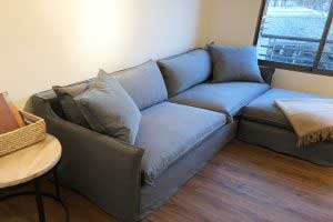 sofaonline - sofa modular a medida Ana con tela Lily 127
