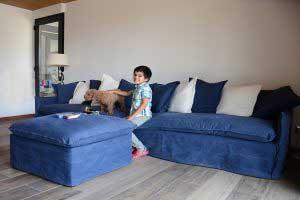 sofaonline - sofa modular a medida Ana con tela Jessie 30