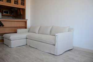 sofaonline - sofa modular a medida Antonia con tela de lino caribe color hueso