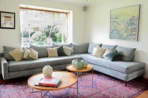 sofaonline - sofa modular a medida Pili con tela storm