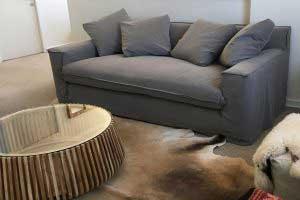 sofaonline - Sofa a medida Amanda con tela Lily 60