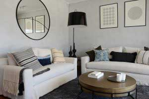 sofaonline - sofa a medida Juana con tela de lino color hueso