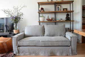 sofaonline - sofa a medida Juana con tela Vera 49