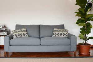 sofaonline - sofa a medida Cata con tela Lily 127