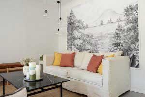 sofaonline - sofa a medida Margarita con tela de lino