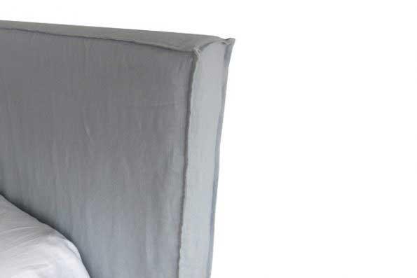 sofaonline - Respaldo con funda de pestaña doble