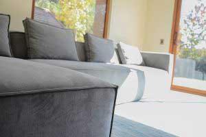 sofaonline - sofa modular a medida Gracia con tela Cryoton Storm