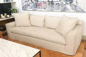 sofaonline - sofa a medida Mariana con tela Div 32