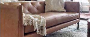 sofaonline - Sofa a medida de cuero Maite