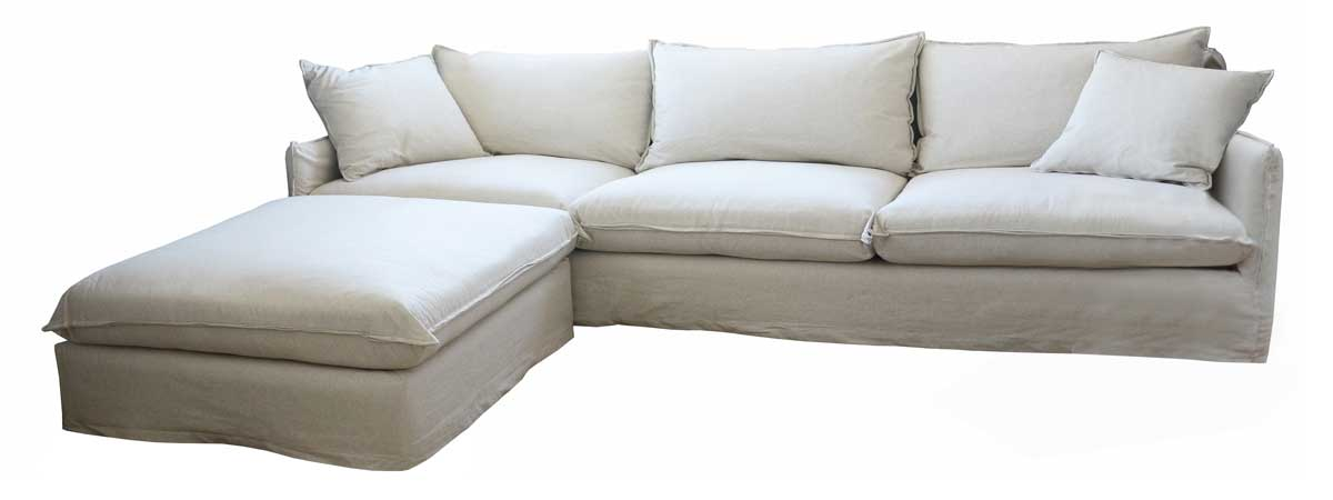 sofaonline - sofa modular a medida con puf independienteAna