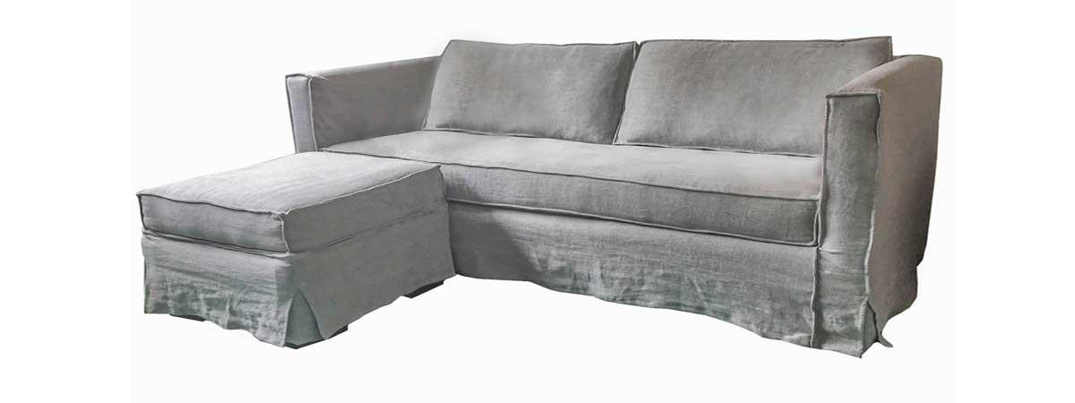 sofaonline - sofa modular a medida con puf independiente Clara